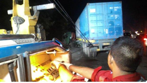 Inilaj sejumlah kendaraan yang terlibat kecelakaan beruntung di Tol Cipularang.