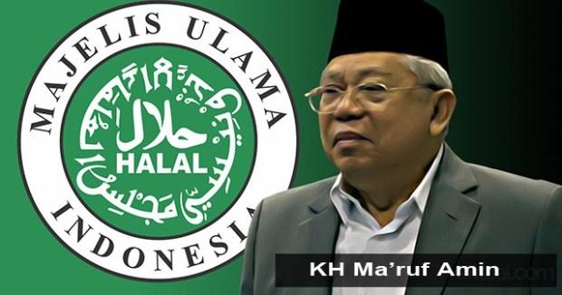 Ketua Umum MUI Ma'ruf Amin.