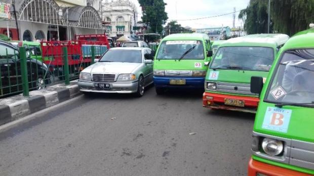 Satlantas Bogor Kota mengidentifikasi ada 12 titik kemacetan di Kota Bogor menjelang Idul Fitri.