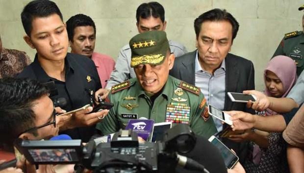 Panglima TNI Gatot Nurmantiyo.