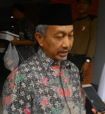 Ketua DPW PKS Jawa Barat, Ahmad Syaikhu yang akan dipasangkan dengan Deddy Mizwar.