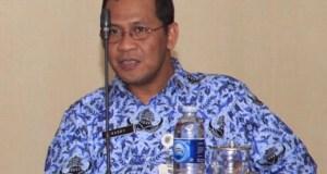 Mantan Sekda Kota Depok Harry Prihatno.