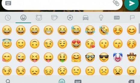 WhatsApp kini punya set Emoji sendiri meskipun sekilas mirip punya Apple.