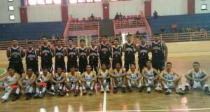 Dua pemain basket andalan Kota Depok (bawah tanda merah) terpaksa hijrah ke Bekasi karena tidak ada tantangan dan perhatian dari KONI dan Pemkot Depok.