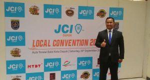 Kamaludin Enuh terpilih sebagai LP JCI Depok periode 2017-2018.