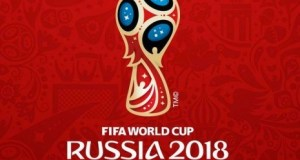 Logo Piala Dunia 2018 yang akan diselenggarakan di Rusia