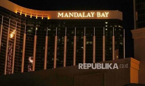 Dari hotel inilah pelaku melepaskan tembakan ke lokasi konser sehingga lebih dari 58 orang meninggal. (republika)