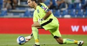 Inilah Gianluigi Buffon, sang kapten Timnas Italia. Karena merasa gagal, Buffon menyatakan akan menggantung sarung tangan, (reuter)
