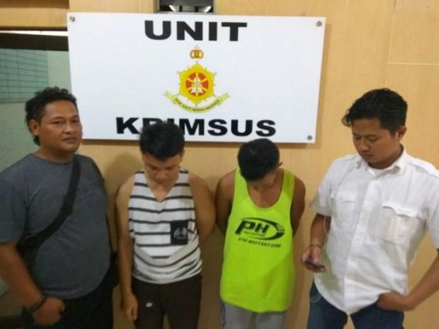 Polresta Depok menangkap 2 orang pelaku prostitusi gay melalui media sosial (medsos).