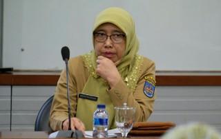 Ketua Bappeda Kota Depok, Widyati Riyandani.