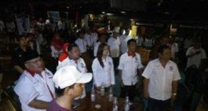 Partai Perindo menggelar syukuran di Depok.