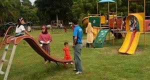 Tempat bermain anak adalah salah satu hak anak dan menjadi persyaratan Kota Layak Anak.
