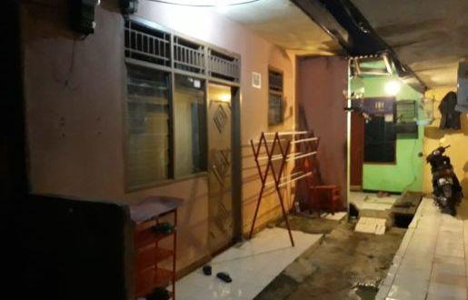 Inilah rumah kontrakan MM yang digerebek Densus 88 Anti Teror di RT 06/22 Mekarjaya, Sukmajaya Depok.