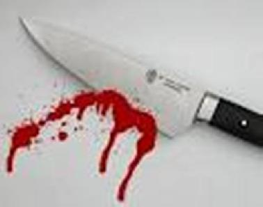 Pisau berdarah (ilustrasi)
