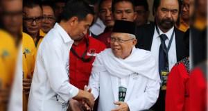 Pasangan capres-cawapres Joko Widodo-Ma'ruf Amin.