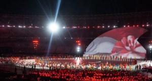 Presiden Jokowi membuka Asian Para Games di Stadion Gelora Bung Karno.