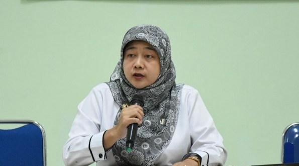 Kepala Bidang Pelayanan Kesehatan Dinas Kesehatan Kota Depok, May Haryanti.