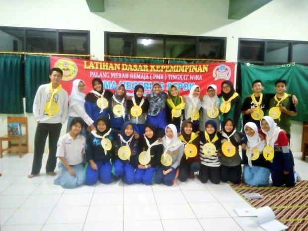 Salah satu kegiatan siswa SMAN 10 Kota Depok.