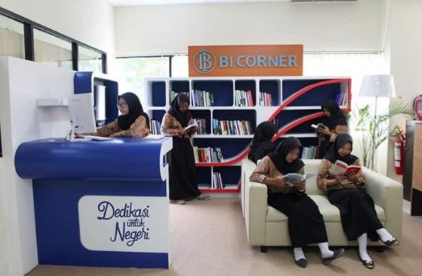BI Corner kini ada di gedung Perpustakaan Umum Kota Depok.