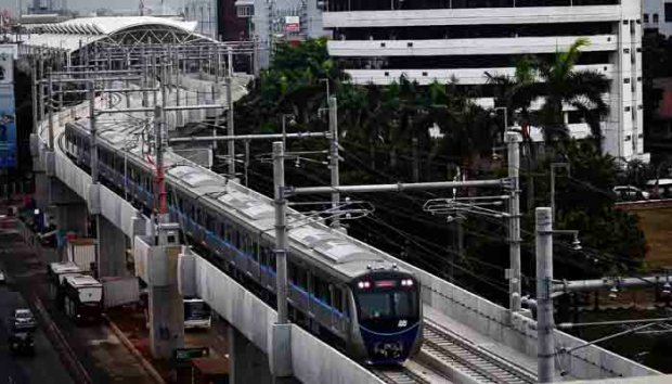 MRT Lebak Bulus ke Bundadaran HI sudah diujicoba.