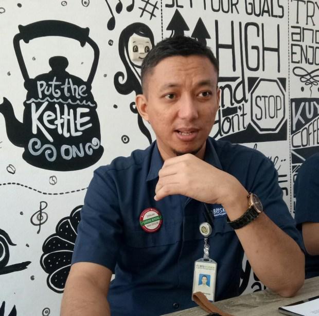 Irfan Qadarusman Kepala BPJS Kesehatan Cabang Kota Depok.