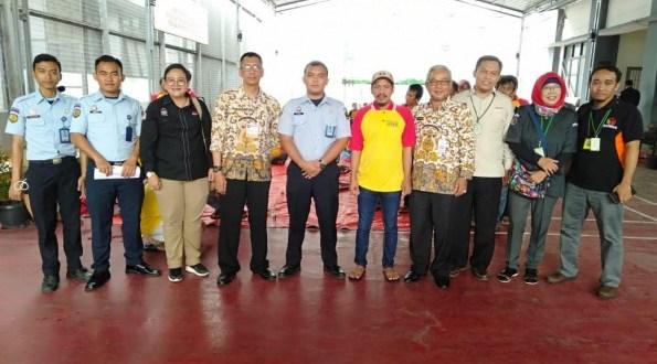 Sebanyak 55 warga binaan Lapas Cilodong mengikuti perekaman data E-KTP.