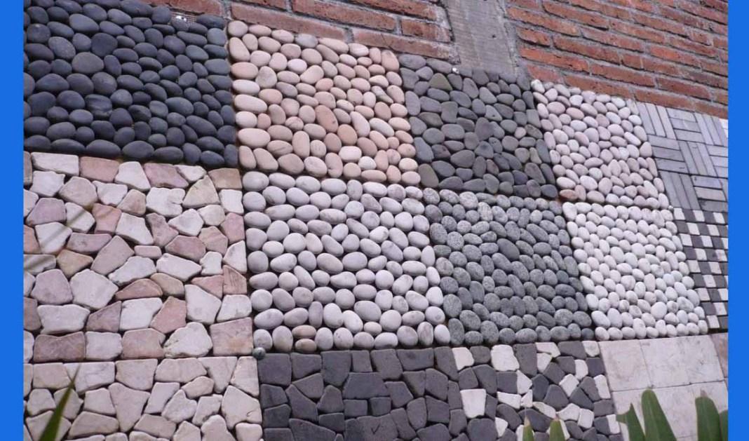 Corak Pagar Batu Alam Rumah Minimalis