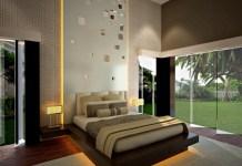 Letak dan Interior Kamar Tidur Utama