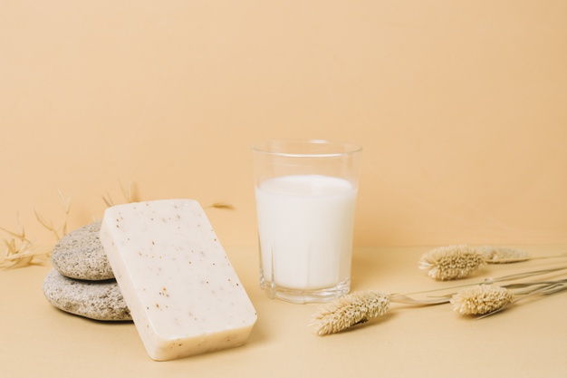 sabun susu melembutkan kulit