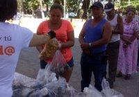 Apoyaremos la economía de las familias con venta de tilapia a bajo costo: Azucena López Legorreta