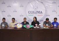 """Presenta Gobierno Estatal Cartelera y Cinturones de """"Noche de Campeones"""""""