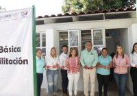 Inaugura DIF Estatal Unidad Básica de Rehabilitación en Suchitlán