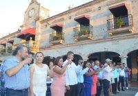 Con emotiva ceremonia este viernes se realizó una boda colectiva en Cuahutemoc