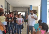 Emprende Alcalde Rafael Mendoza iniciativa para generar empleo, apoyando la creación de negocios