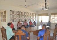 Se reúne Alcalde Rafael Mendoza con autoridades auxiliares municipales para atender el operativo de prevención del coronavirus