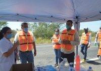 Conjunta esfuerzo gobierno del estado con el operativo dispuesto por el alcalde Rafael Mendoza en cuauhtémoc para prevenir el coronavirus