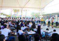 Con charlas, conmemoran Día de la Mujer en bachilleratos de Tecomán