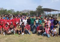 En Manzanillo, arranca torneo de liga en zona rural, con el apoyo de Virgilio Mendoza