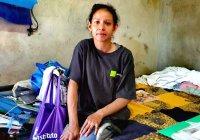 Ella es Mónica, vive en Tecolapa, es madre de dos menores y padece esclerosis múltiple progresiva