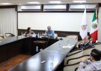 Gobernador analiza infraestructura de salud ante Covid-19