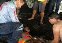 Rescatan jovencita de Ciudad Guzmán de ahogarse en la Playa El Real, en Tecomán