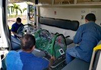 Diputados de Morena y PT entregan una cápsula de aislamiento para pacientes con Covid-19 al hospital de Manzanillo