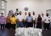 Embotelladora Coca-Cola de Colima, se suma a las estrategias para mitigar el virus en el municipio de Colima.