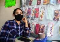 Jaki era maestra en una guardería en Colima, ahora vende cubrebocas para salir adelante