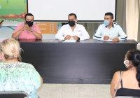 Regidor Ángel Venegas interviene para agilizar apoyos a comerciantes y ramaderos de Tecomán