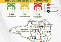De 97 sube a 108 casos positivos de Covid-19 en el estado de Colima; se reportan 16 muertes
