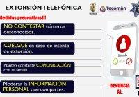 En aumento delito de extorsión telefónica, advierteDGSPYPV