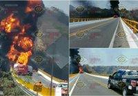 Se registra accidente en pleno Puente Beltrán, autopista Colima – Guadalajara