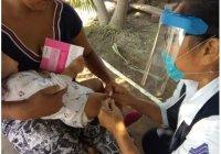 Gobierno del Estado combate Covid-19, dengue y sarampión