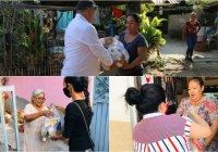 Por COVID-19, alcalde de Ixtlahuacán y DIF llevan nuevamente apoyo alimentario a personas del municipio